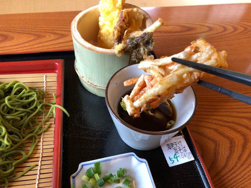 茶そばの天ぷら