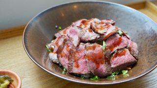 掛川牛のステーキ丼