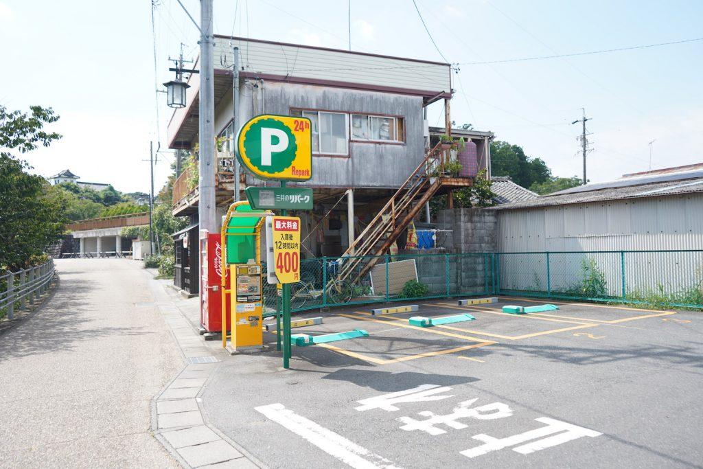 掛川城三井のリパーク