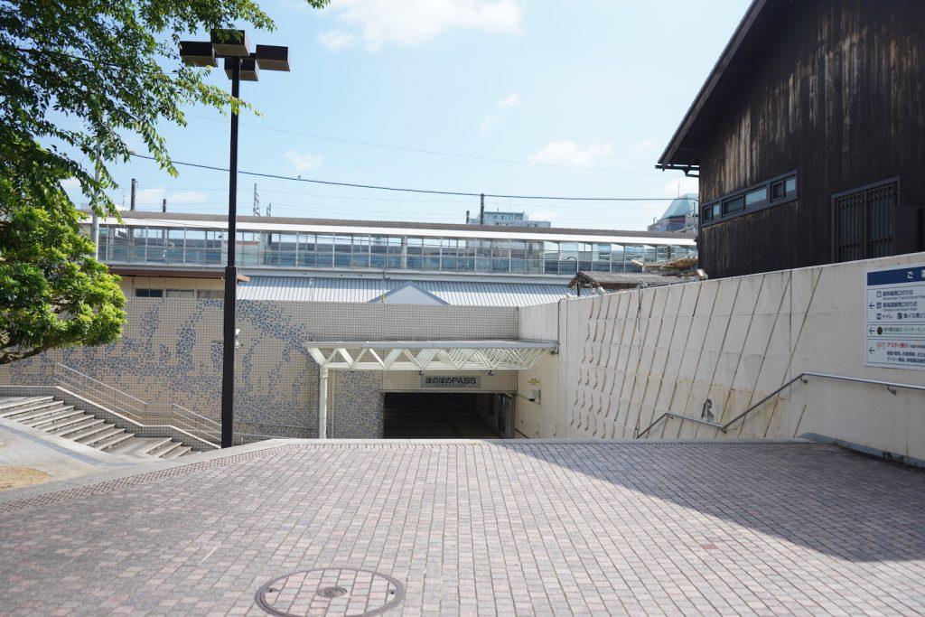 掛川駅新幹線出口