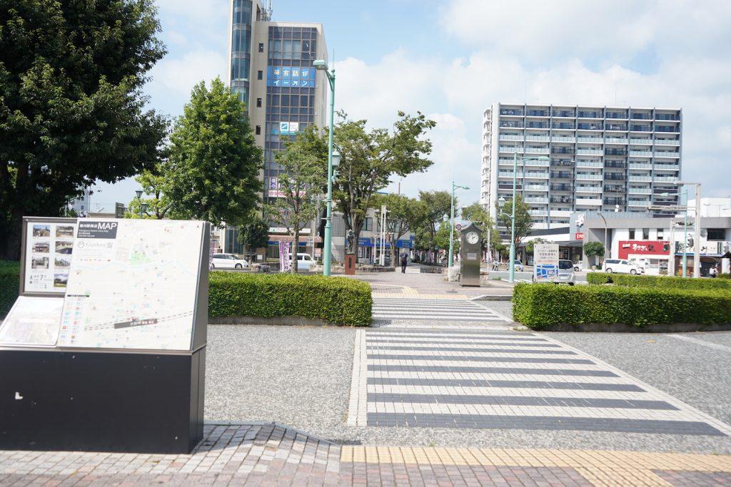 掛川駅周辺のマップ