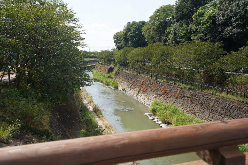 掛川城の堀