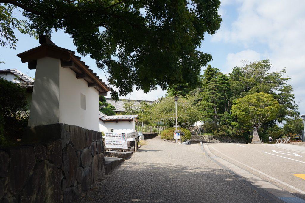 掛川城のふもと